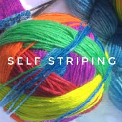 Self Striping Yarns